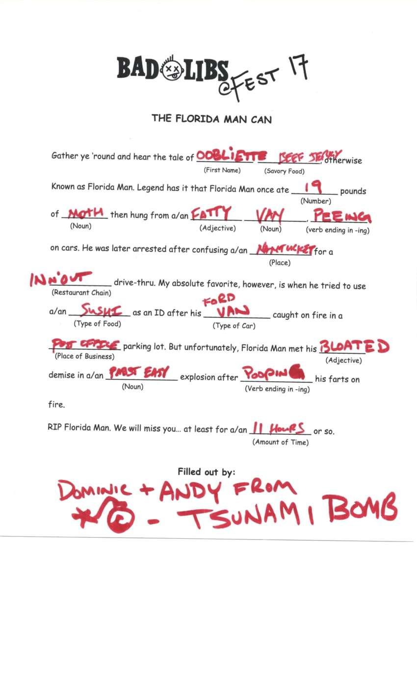 Tsunami Bomb